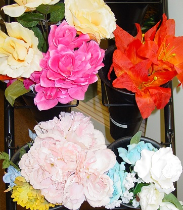 Flowers brighten any room. Check out our selection of everlasting floral designs.
