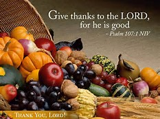 Every day is a great day to give thanks to the Lord.