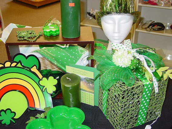 Decorate for St. Patrick's Day and enjoy the luck of the Irish.