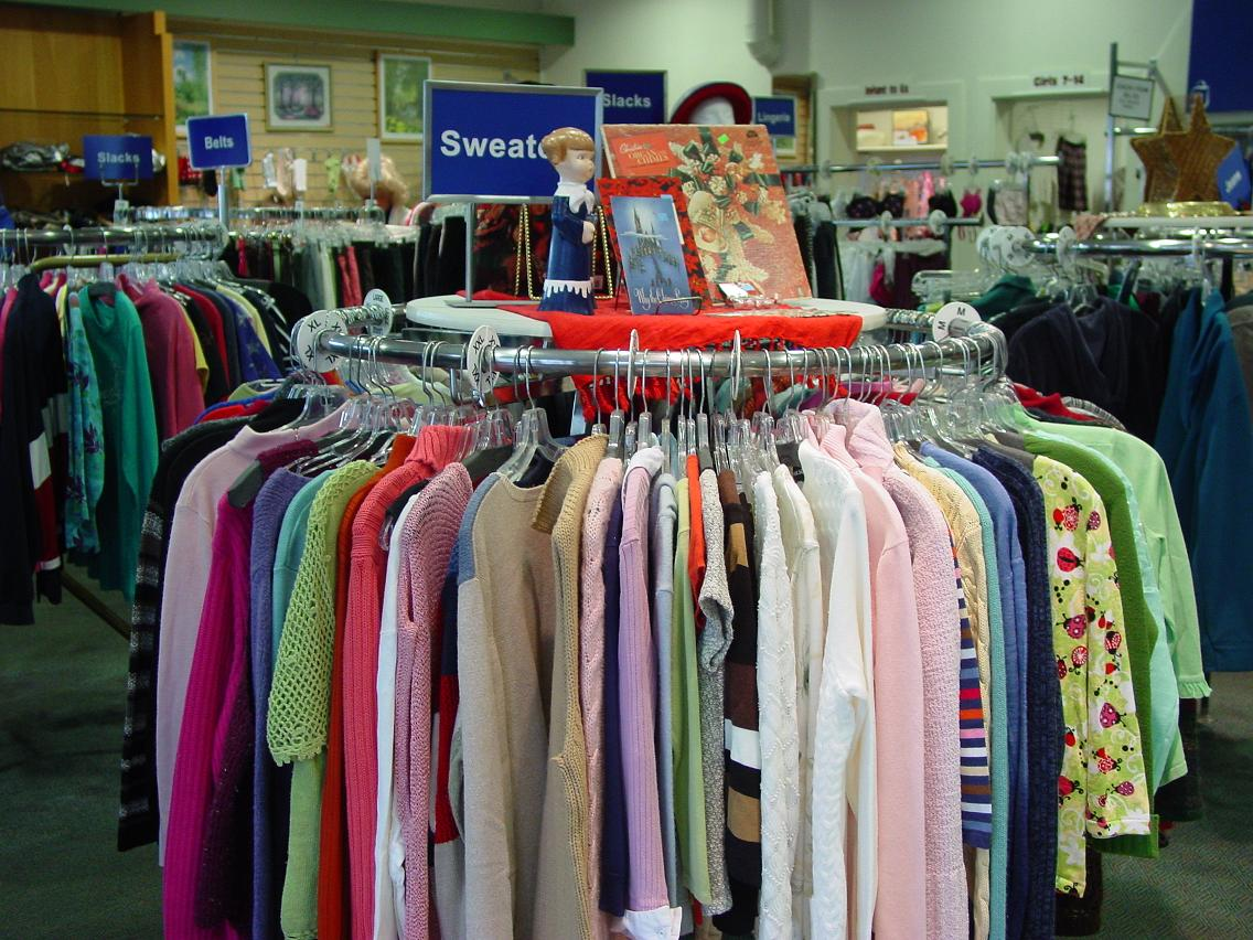 Celebrate NATIONAL THRIFT SHOP Day with 50% off all clothing on Wednesday, August 17th.